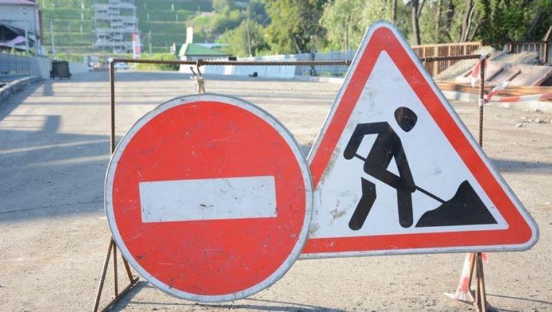 Две улицы частично перекроют в Нур-Султане