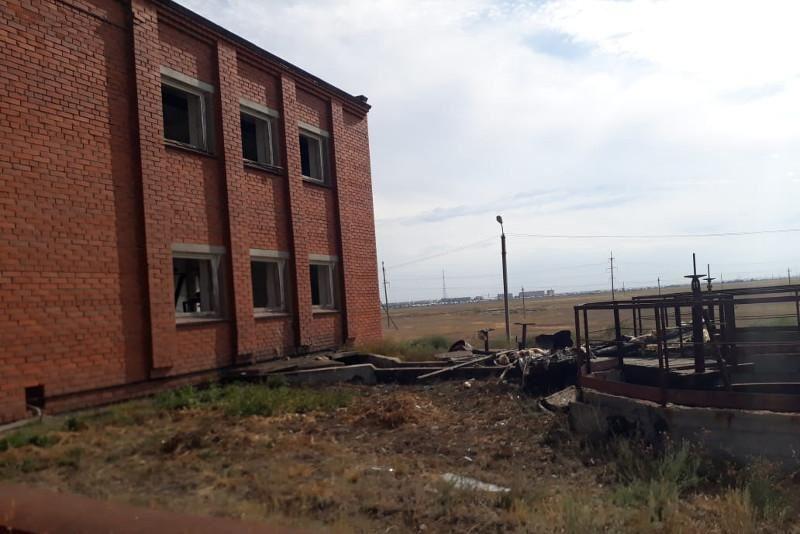 Ақсай қаласында ғимаратта газ жарылып, бір адам мерт болды