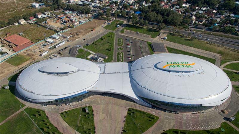 Стационар на базе Halyk Arena временно закрыли в Алматы