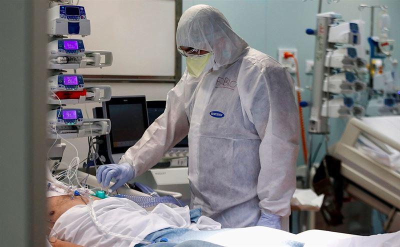 В Казахстане за  сутки скончалось 50 человек от коронавируса и пневмонии
