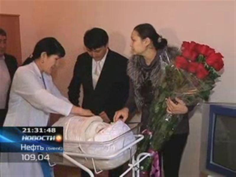 Алия Юсупова родила сына