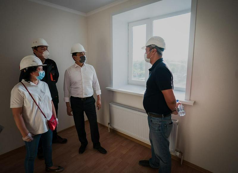 Соцжилье для учителей и врачей строят в Нур-Султане