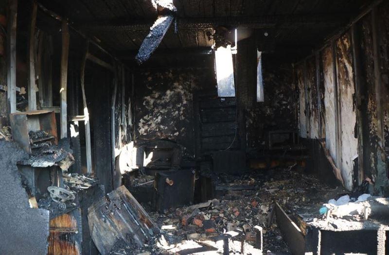 В Петропавловске произошел пожар в частном жилом доме, погибли три человека