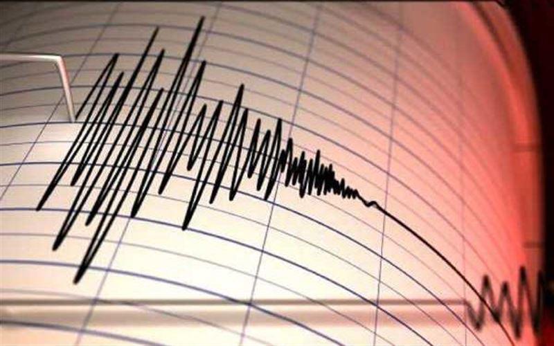 Землетрясение произошло в 841 км от Алматы