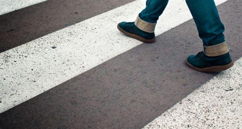 В Павлодаре подростка сбили на пешеходном переходе