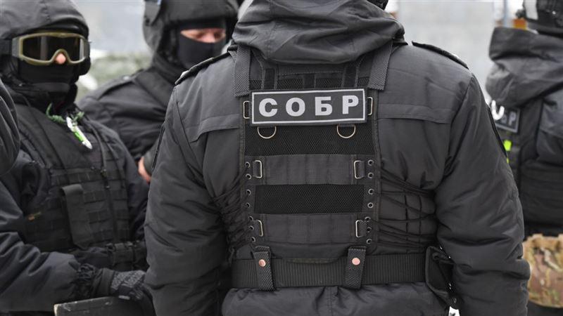 Ақтауда СОБР қызметкерлері 40 адамды ұстады