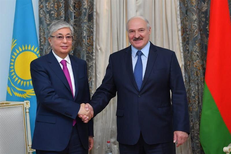 Тоқаев Лукашенконы президент болып қайта сайлануымен құттықтады