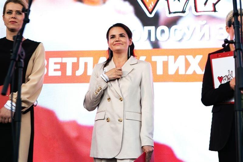 МИД Литвы сообщил, что Тихановская покинула Беларусь