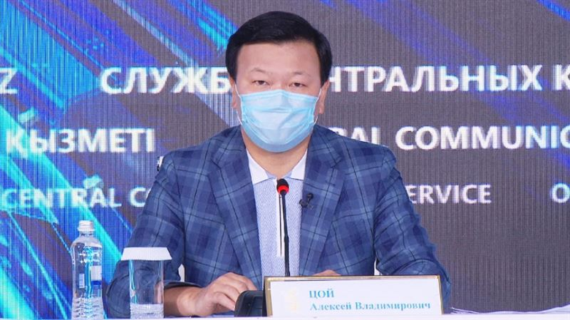 Алексей Цой возмутился манерой общения главного санврача Алматинской области