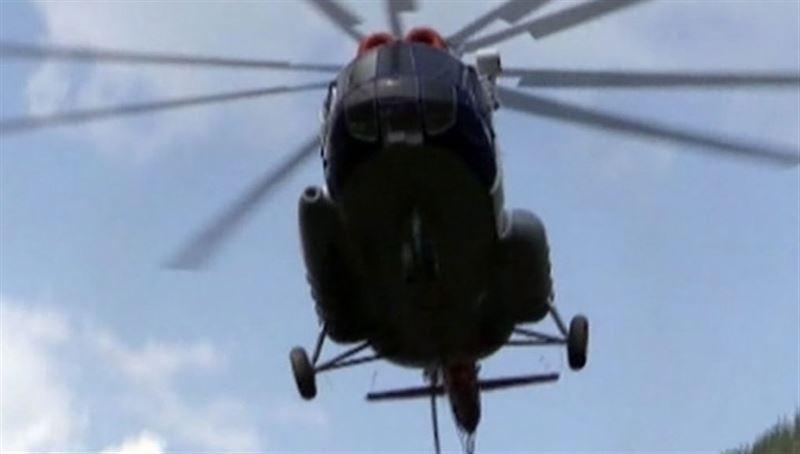 В департаменте полиции Алматы объяснили, почему над городом летают вертолеты