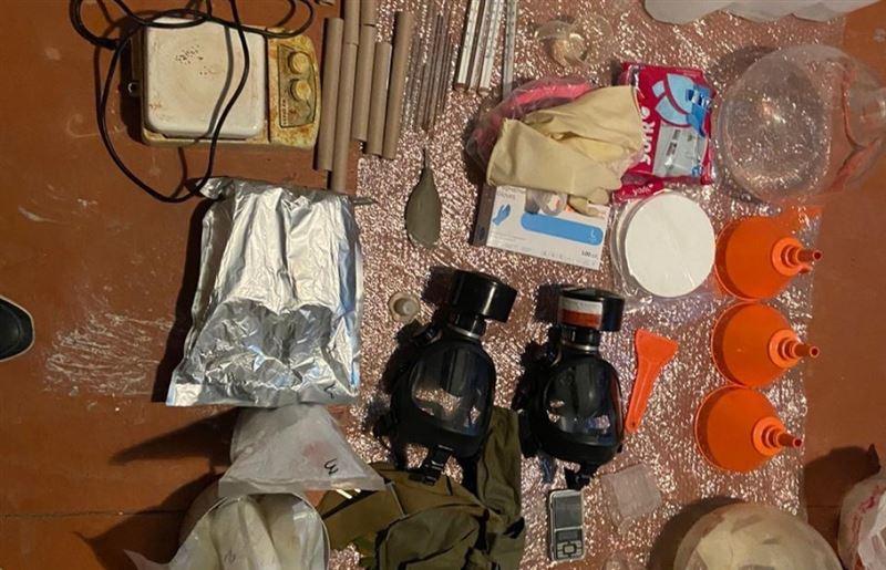 КНБ ликвидировал нарколабораторию близ Нур-Султана