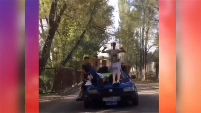 Нарушителей ПДД наказали в Жамбылской области