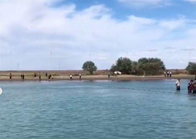 Балқашта ұлын құтқармақ болғанер адам суға батып кеткен