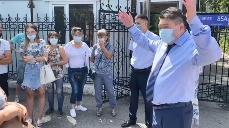 Главный санврач Алматинской области извинился перед казахстанцами