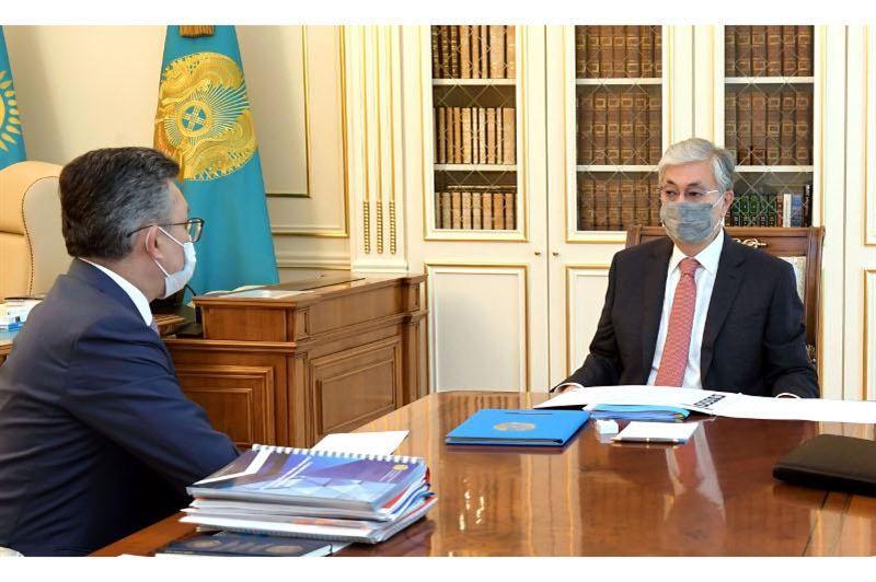 Президент принял принял министра торговли и интеграции