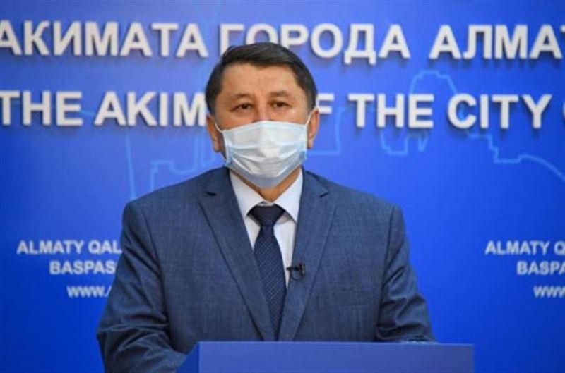 Заболеваемость в Алматы идет на спад — Бекшин