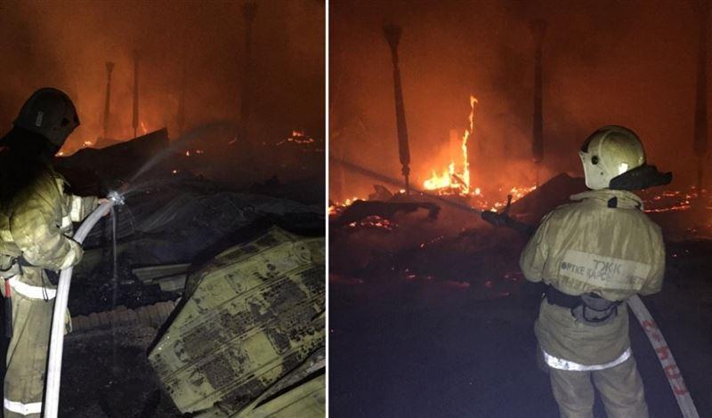 «Это был поджог» – Акан Сатаев о пожаре на «Казахфильме»