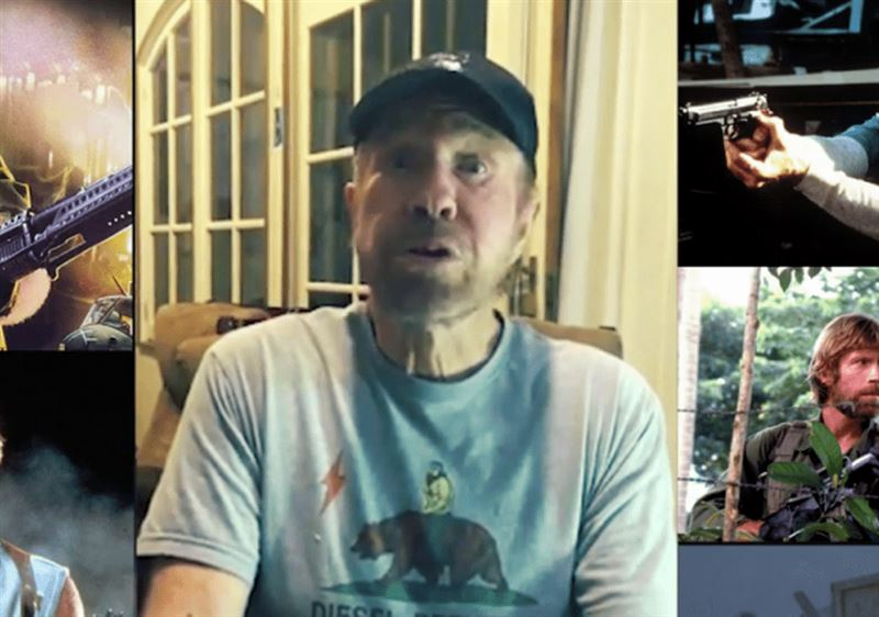 Чак Норрис обратился к Лукашенко и пообещал заставить его плакать