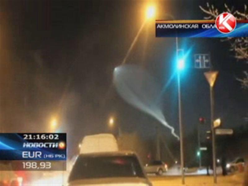 В Астане настоящее светопреставление – в небе над столицей отстыковалась ступень космического корабля