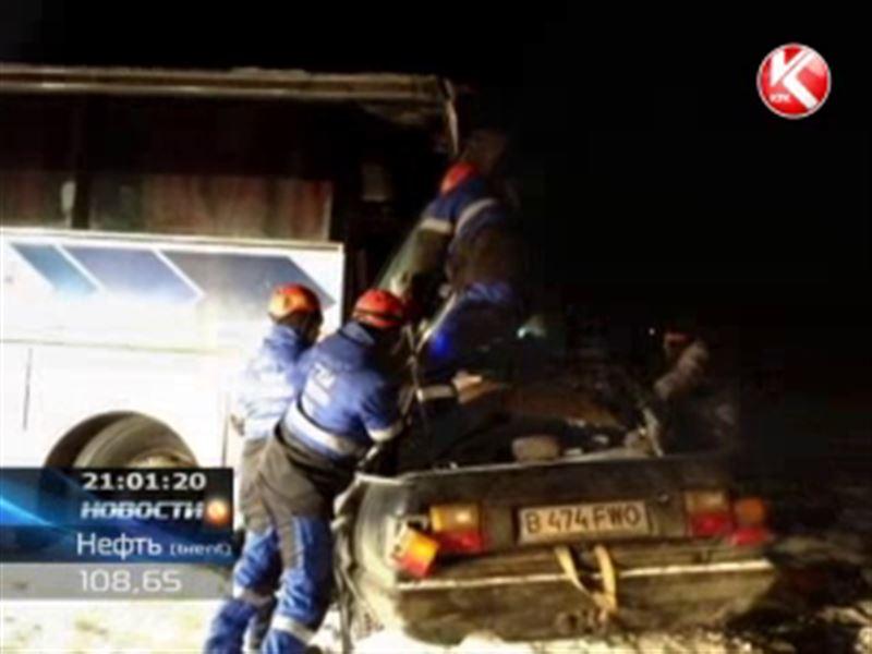Авария на трассе в Алматинской области отправила на тот свет шесть человек