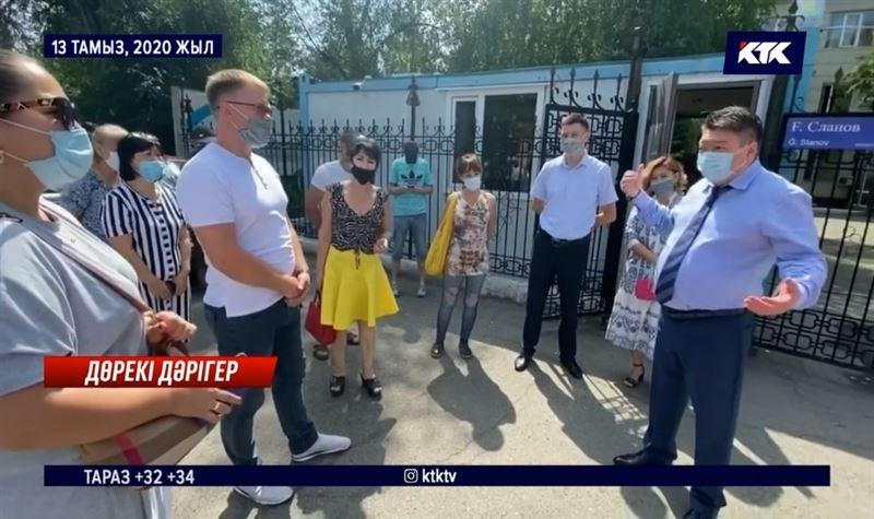 «Басымды қатырма»: Ерғали Сыдыманов тәртіптік жазаға тартылды
