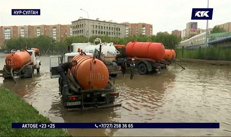 Улучшая водоснабжение, строители оставили часть столицы без воды