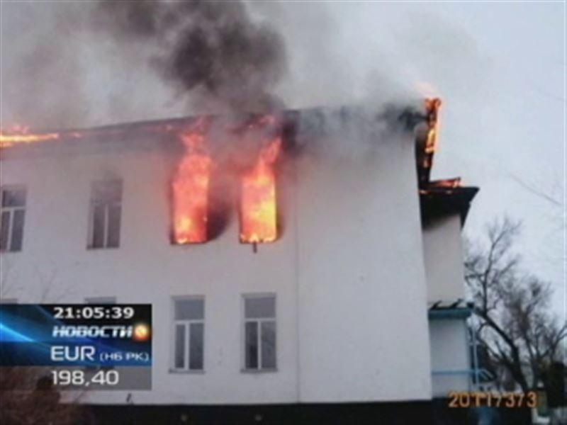 В Жамбылской области загорелась школа, погиб 24-летний учитель