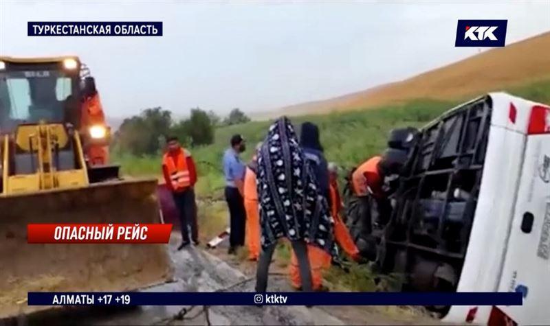 ДТП с пассажирским автобусом: 25 человек пострадали, 3 в реанимации