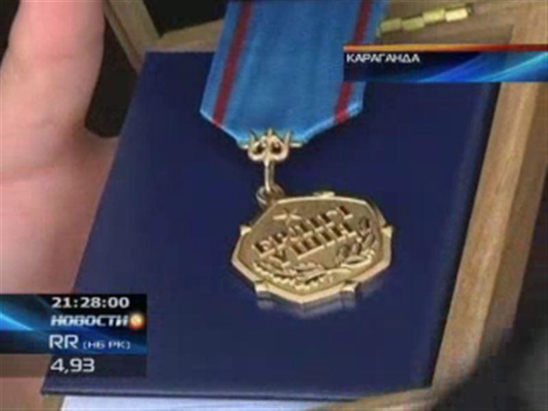 В Караганде посмертно наградили двоих пожарных