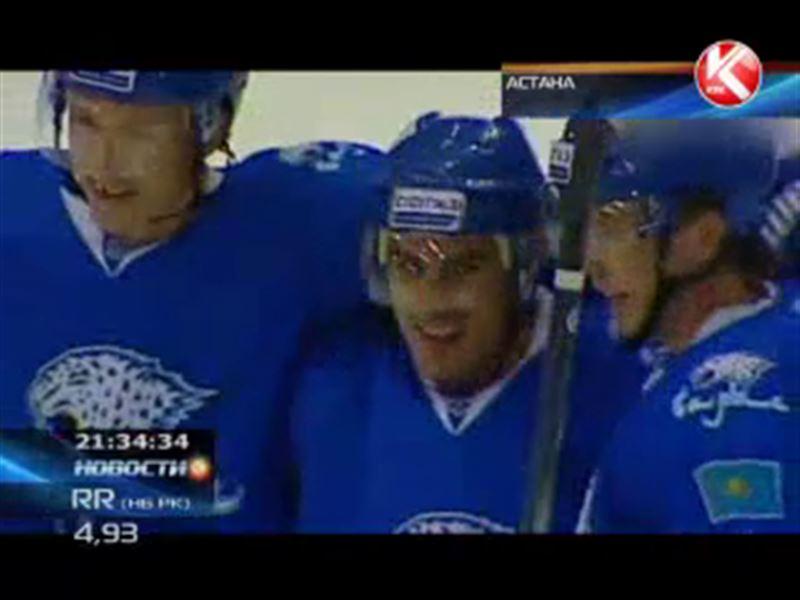 Хоккеисты столичного «Барыса» одержали победу в чемпионате Континентальной хоккейной лиги