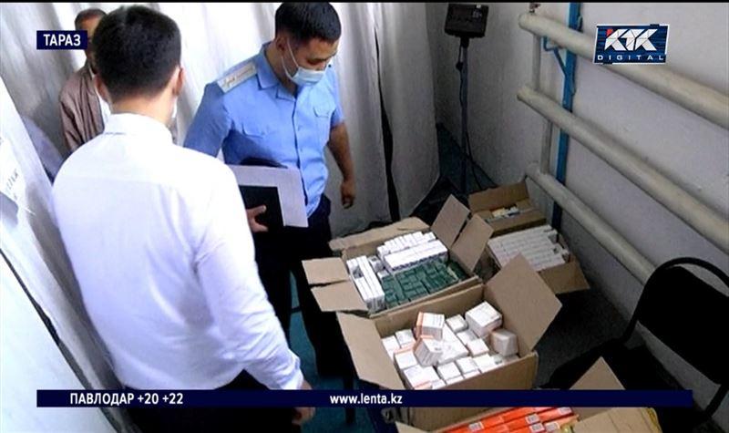 Лекарства пытались незаконно ввезти в Казахстан