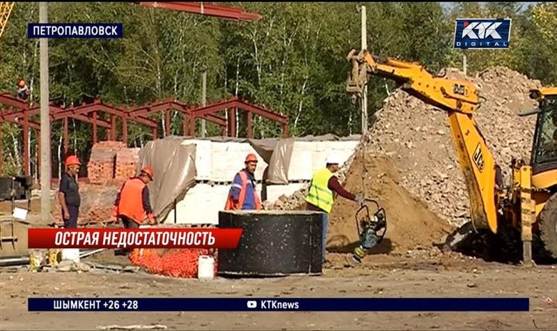 Петропавловские безработные не хотят строить больницу