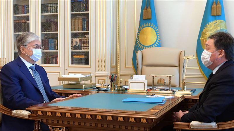 Касым-Жомарт Токаев принял премьер-министра