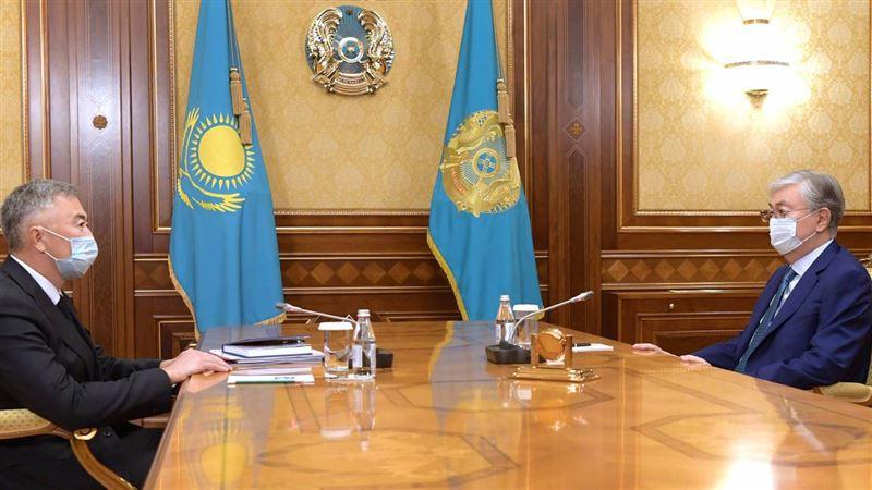 Президент Казахстана встретился с главой нового агентства
