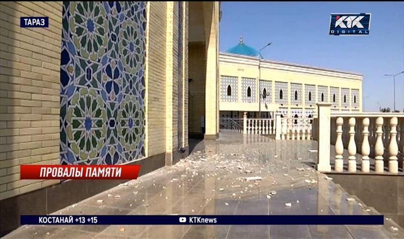 С комплекса «Шахристан», обошедшегося казне в 3,5 миллиарда, отваливается облицовка