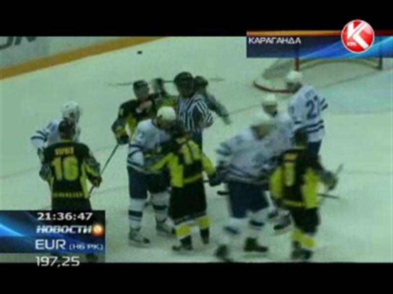 В домашней игре «Сарыарки» с «Динамо» из Балашихи команды набрали 256 штрафных минут