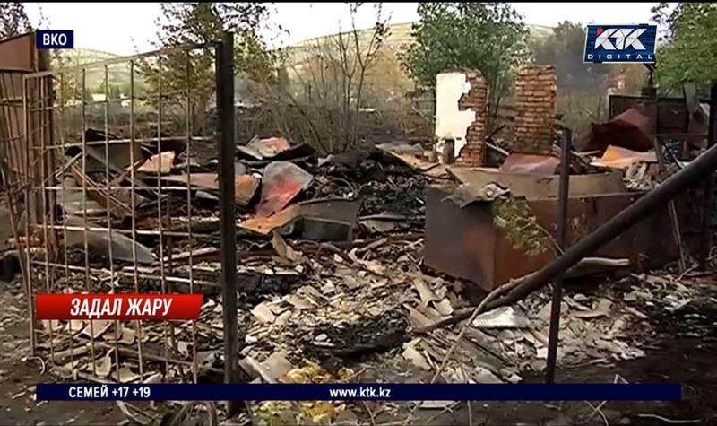 Огонь едва не уничтожил дачный поселок в ВКО