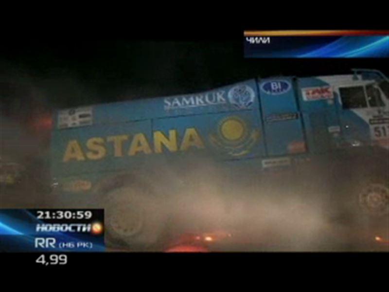 «Астана» завершила свое выступление на ралли-марафоне «Дакар-2013»
