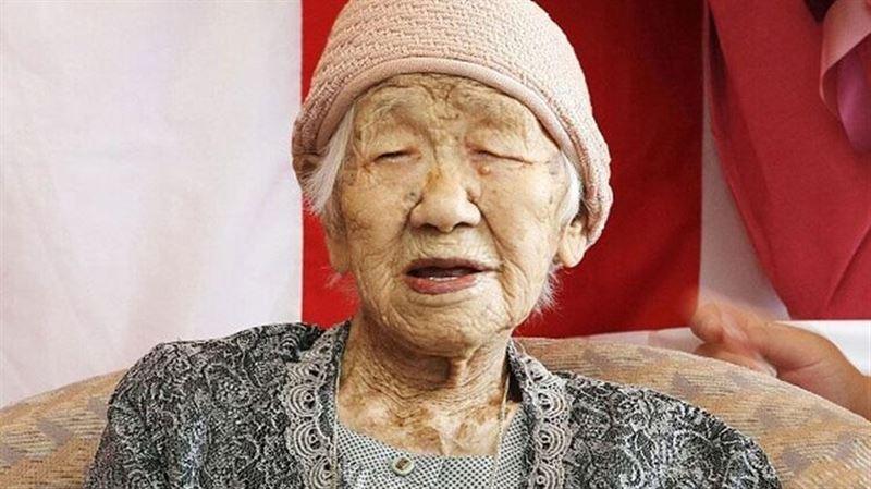 Жительница Японии установила новый рекорд долголетия