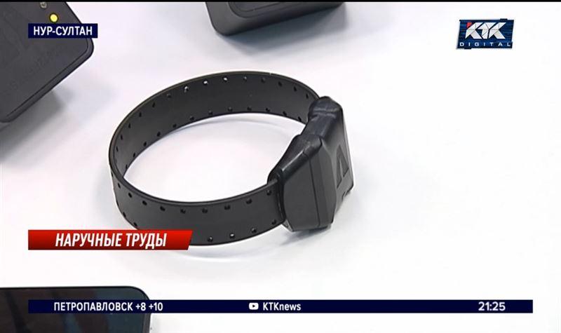 В целях экономии: на карагандинского подозреваемого надели браслет стоимостью полмиллиона
