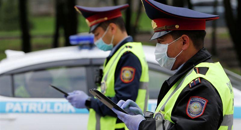 Полиция Алматы переведена на усиленный вариант несения службы