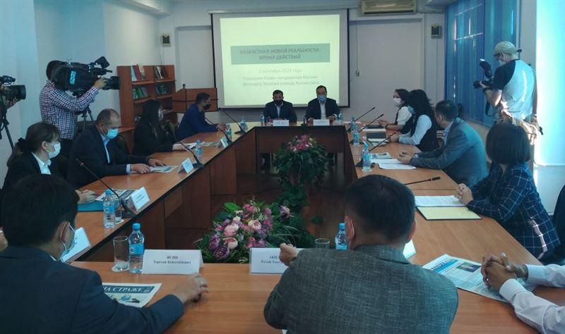 В Алматы состоялся семинар по обсуждению Послания президента народу Казахстана