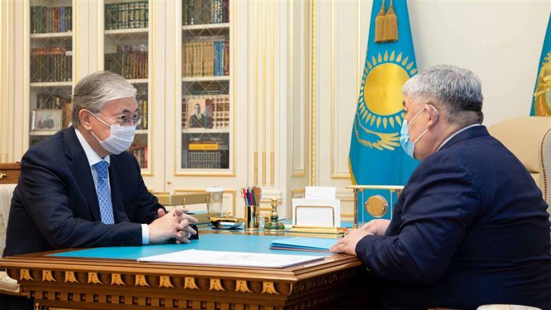 Токаев провел встречу с государственным секретарем