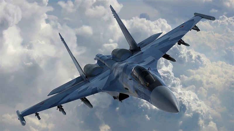 На территории России разбился истребитель Су-30