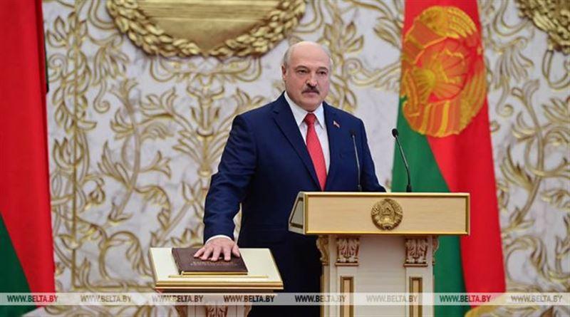 Лукашенко вступил на пост президента Беларуси
