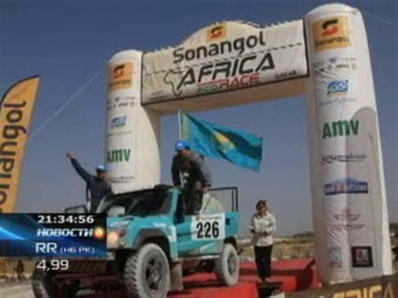 Наши автогонщики заняли первое место в международном ралли Africa Eco Race-2013