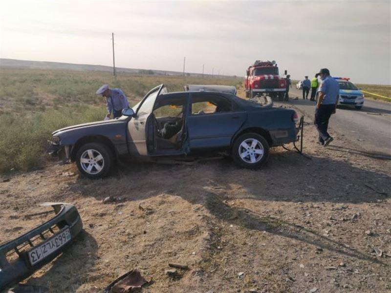 Трое погибли в жуткой аварии на трассе Арысь ‒ Шымкент