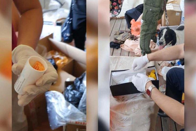 Алматинские полицейские изъяли крупную партию сырья для изготовления синтетических наркотиков