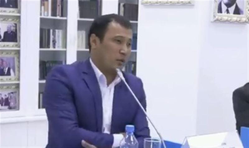 В Казнете обсуждают эмоциональную речь участника праймериз Nur Otan
