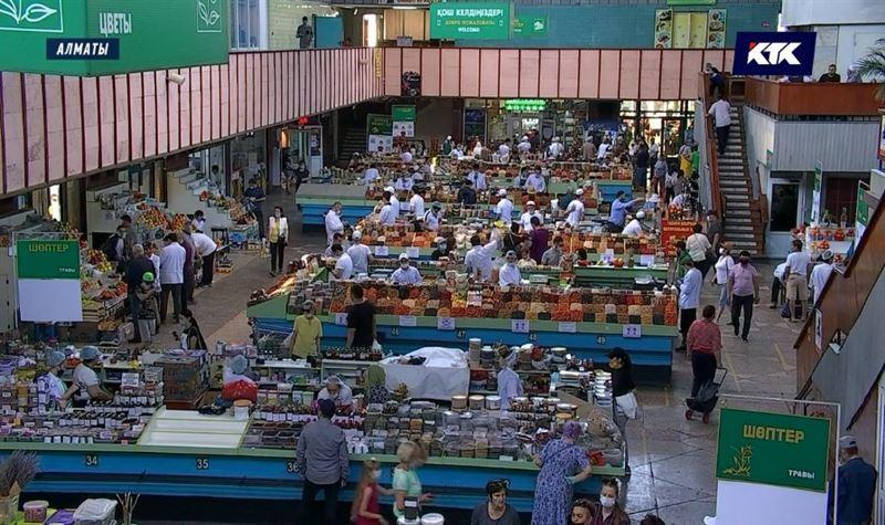 ПРЯМОЙ ЭФИР: В Алматы закроют Зеленый базар